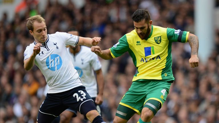 Eriksen impressed on his debut against Norwich