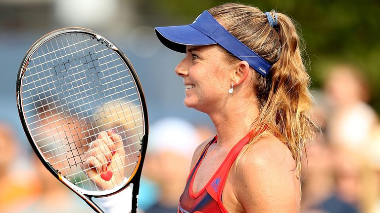 Daniela Hantuchova: The Slovakian top seed struggled past Renata Voracova