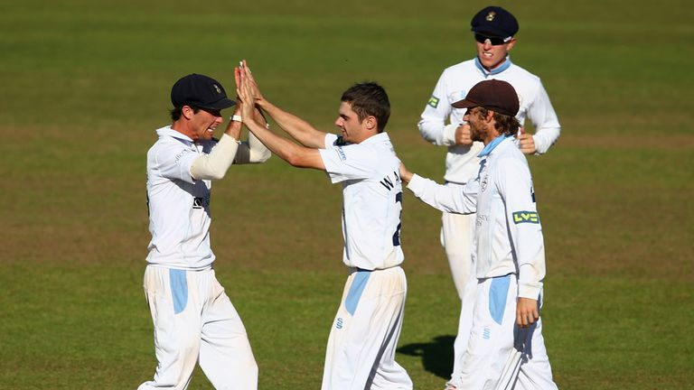 Derbyshire: Relegated back to Division Two in 2013