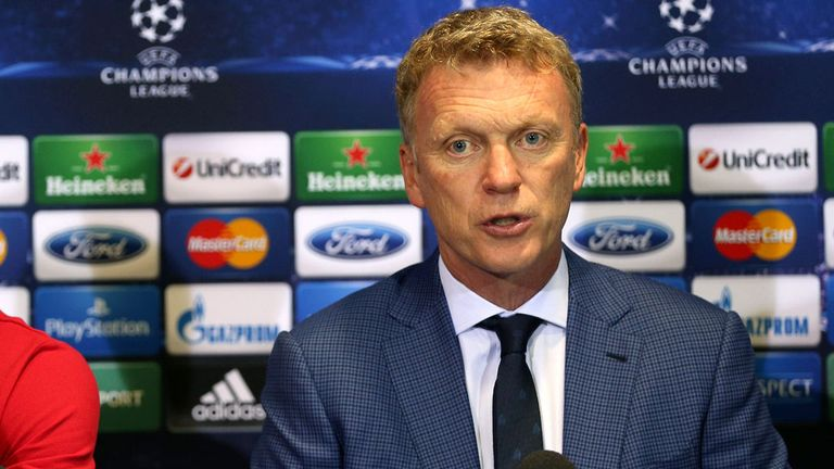 David Moyes: Manchester United boss is looking forward to the Champions League campaign
