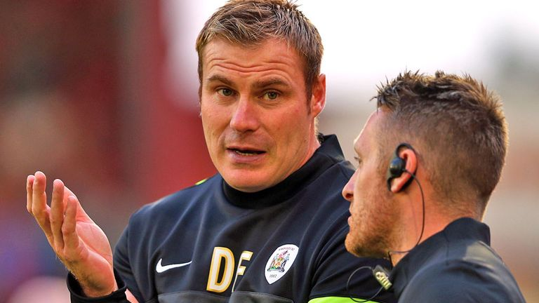 David Flitcroft: Impressed by young defender