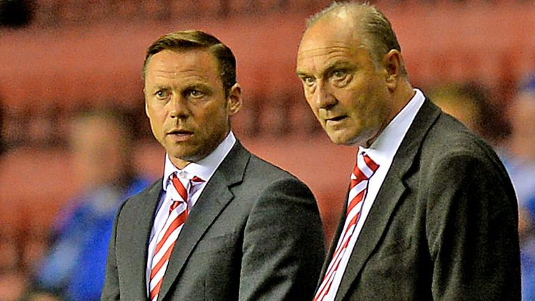 Paul Dickov: Was in a fiery mood during and after the game