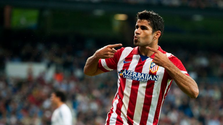 Diego Costa: The Atletico striker says he is open to a call-up from either Spain or Brazil