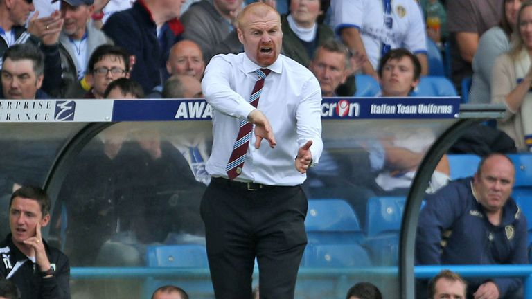 Sean Dyche: Spoken highly of Sam Vokes and Danny Ings