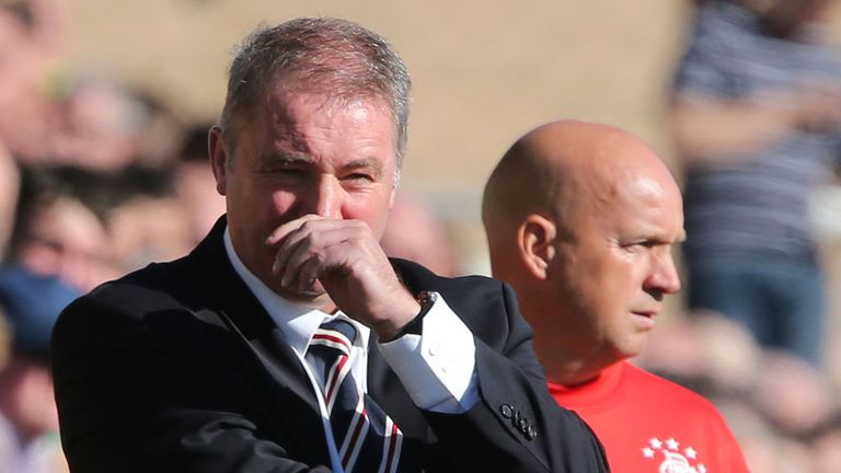 Ally McCoist: Taken a salary cut
