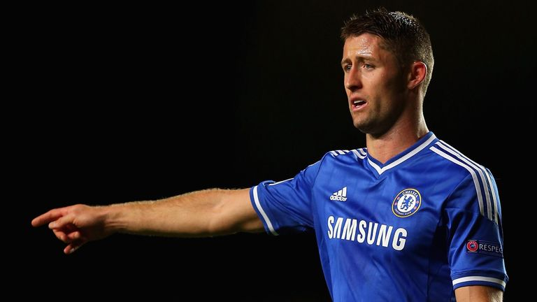 Gary Cahill: Tony Gale believes the Chelsea man forms a formidable partnership with Phil Jagielka.