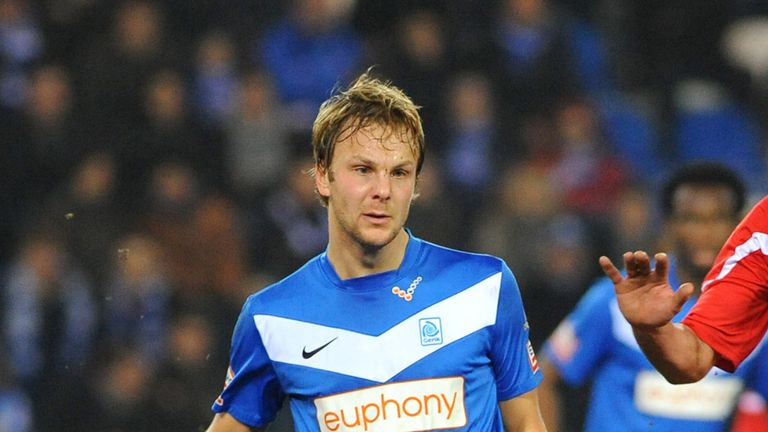 Genk's Julien Gorius: Scored in the second half for the away side