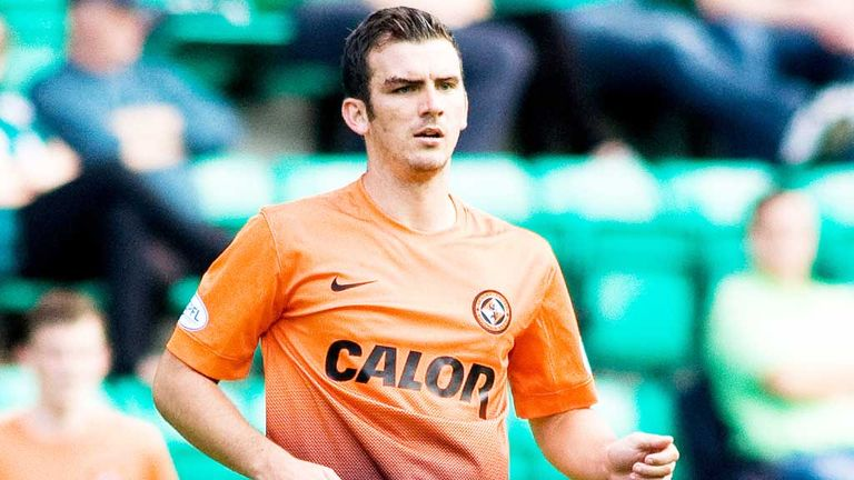 Gavin Gunning: Dundee United defender faces his second ban of the new season