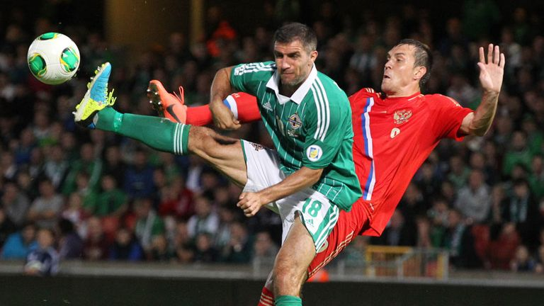 Aaron Hughes: Injury doubt for Northern Ireland