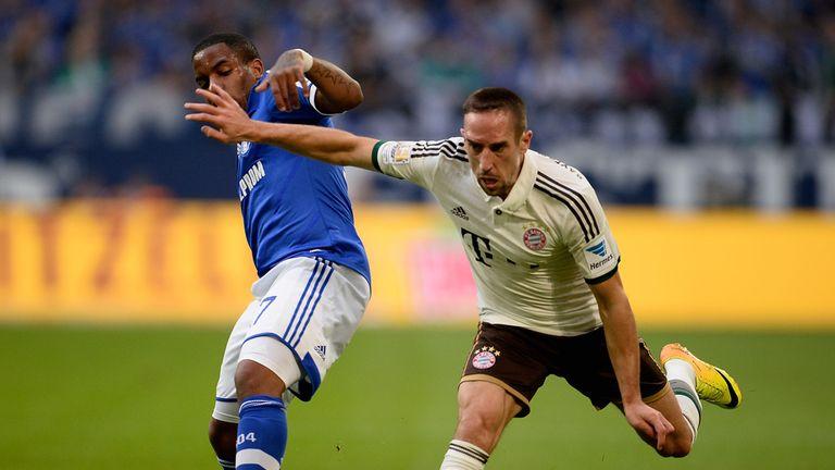 Franck Ribery: Scored for holders Bayern