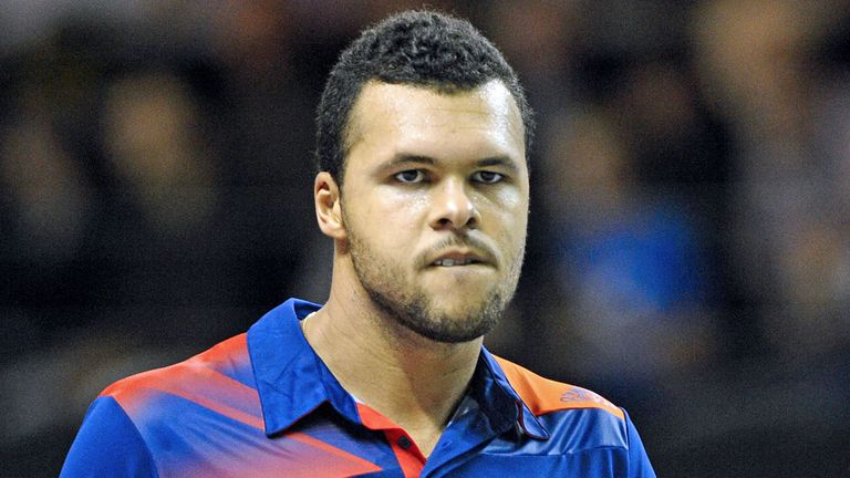 Jo-Wilfried Tsonga: The Frenchman continued his good form in Metz