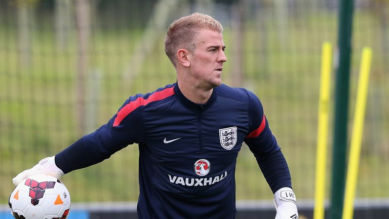 Joe Hart: England and Manchester City goalkeeper has been criticised for recent performances