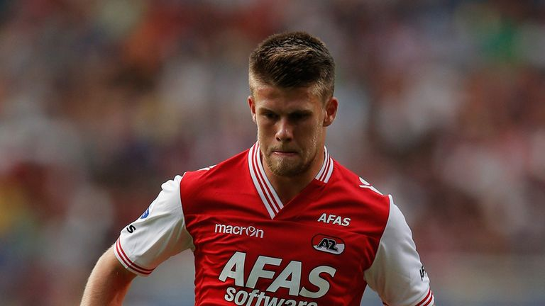 Johann Berg Gudmundsson: On target for AZ Alkmaar
