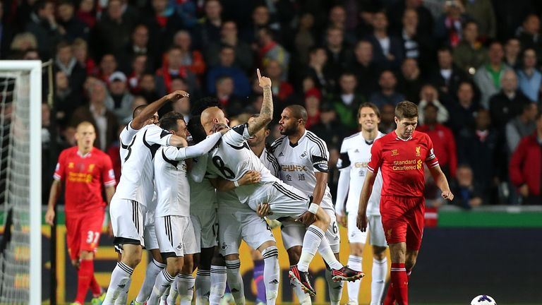 Jonjo Shelvey: Can count on the support of his Swansea team-mates