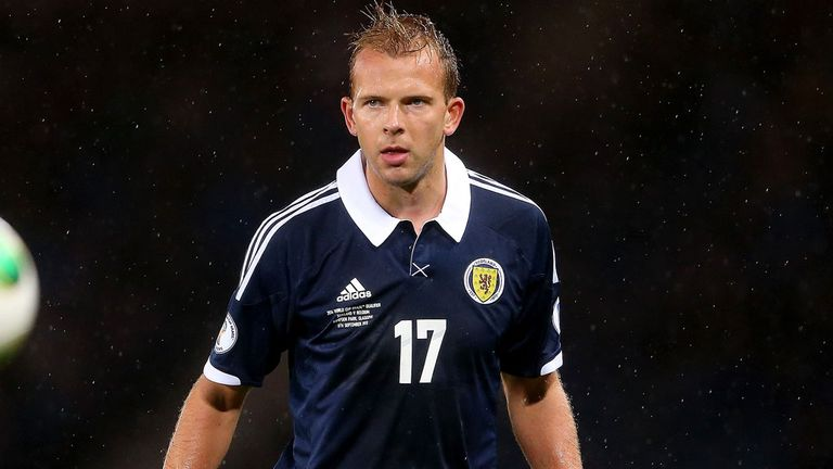 Jordan Rhodes: Scotland striker has sustained a groin injury
