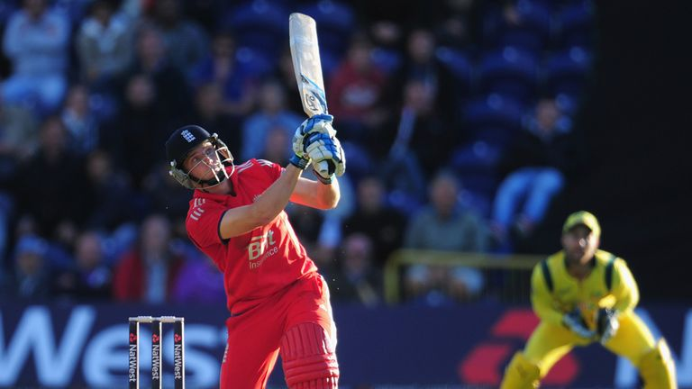 Buttler: Hit an unbeaten 65 not out to steer England to victory