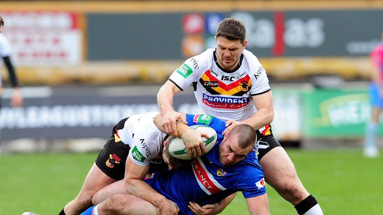 Justin Poore: Has assured Wakefield fans he will be with the club in the 2014 season
