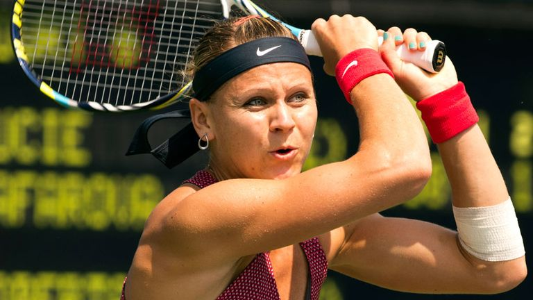 Lucie Safarova: The Czech set up a second round date with Virginie Razzano