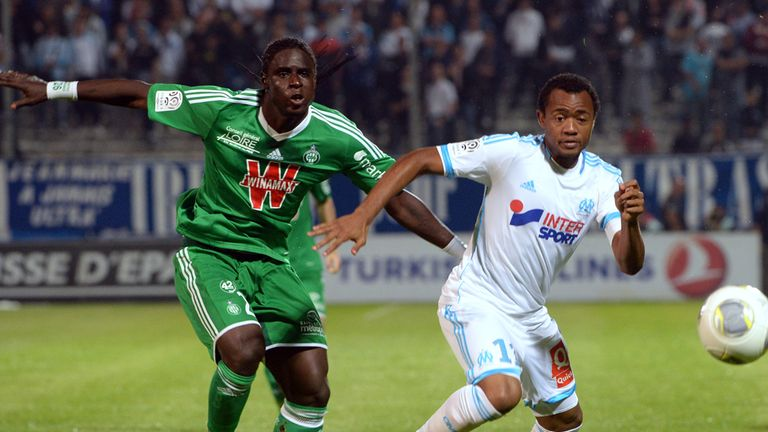 Kevin Osei (r): Victorious with Marseille