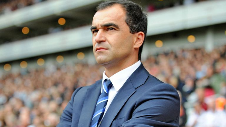 Roberto Martinez: Everton manager has praised club's fans