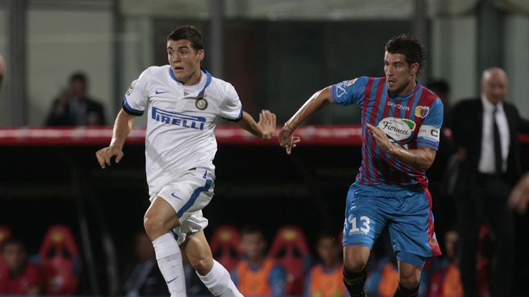 Mateo Kovacic: Forced off against Catania with an injury