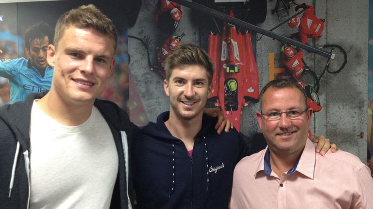 Matt Smith, Luke Murphy and Greg Abbott: Studio guests on Football League Hour