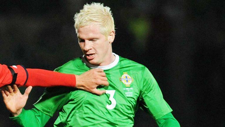 Ryan McGivern: Norther Ireland defender has a knee injury