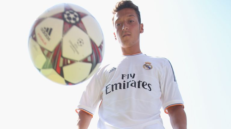 Mesut Ozil: Joined Arsenal from Real Madrid on Monday