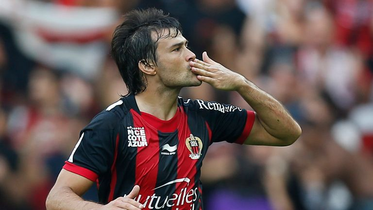 Dario Cvitanich: Striker happy at Nice after Roma interest