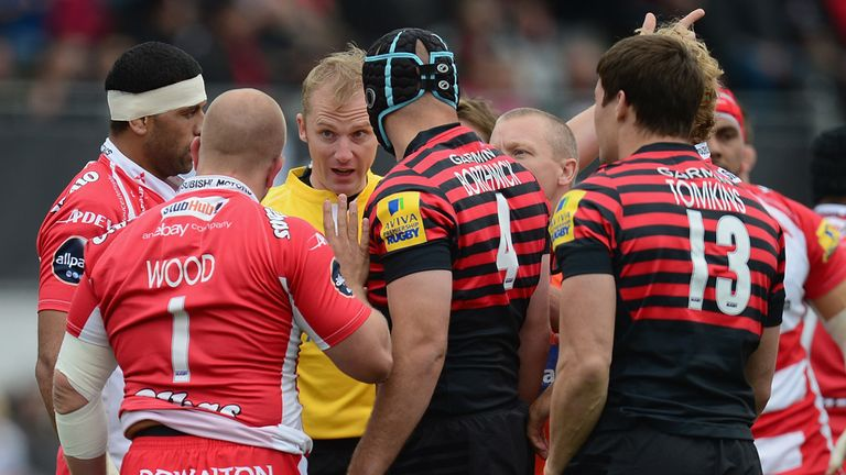 Nick Wood given his marching orders at Kingsholm
