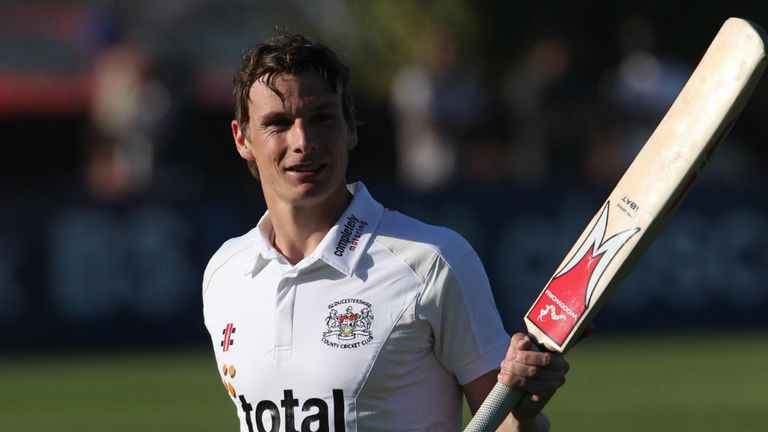 Will Gidman: Gloucestershire all-rounder hit second first-class hundred