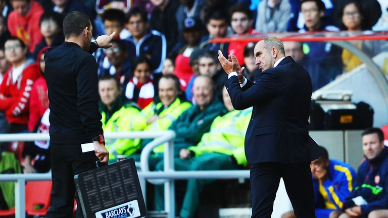 Paolo Di Canio: Was sent to the stand on Saturday