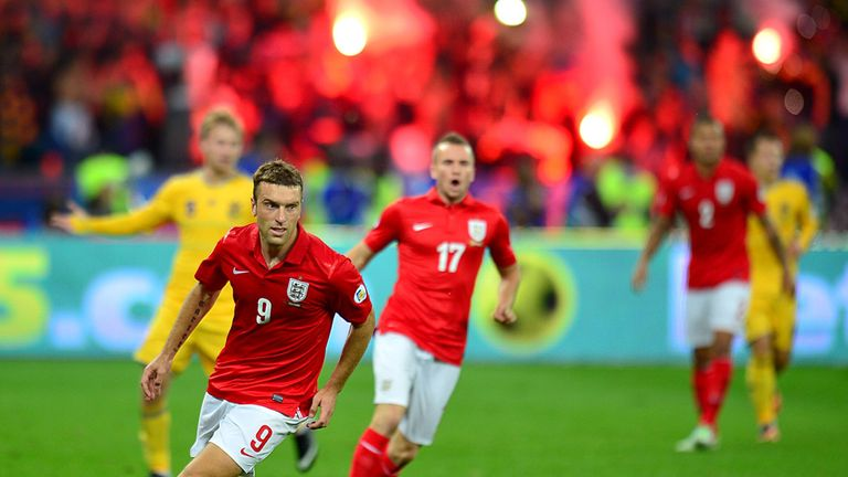 Rickie Lambert: Two goals in three internationals