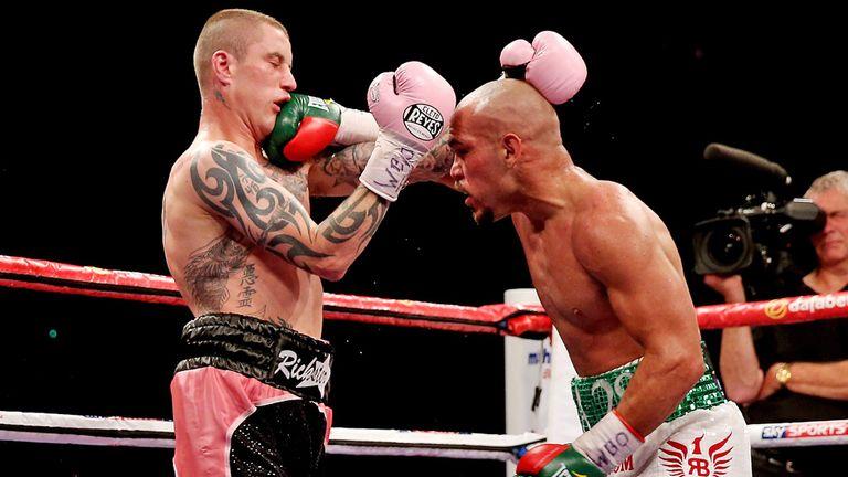 Ray Beltran (right): Believes he won the fight