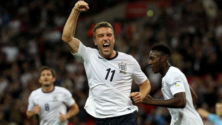 Rickie Lambert: England striker will be reassessed on Sunday ahead of the Germany encounter