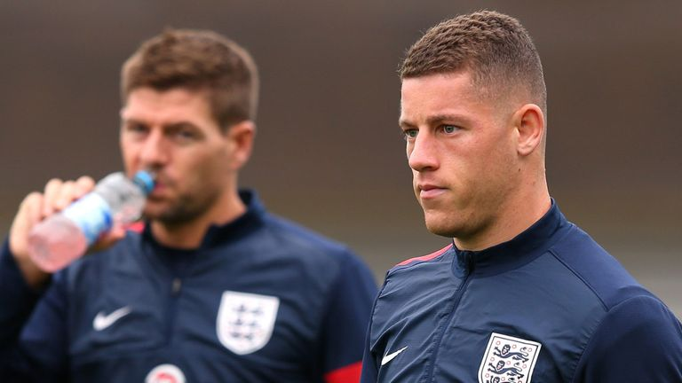 Barkley: is he a long-term midfielder for Hodgson?