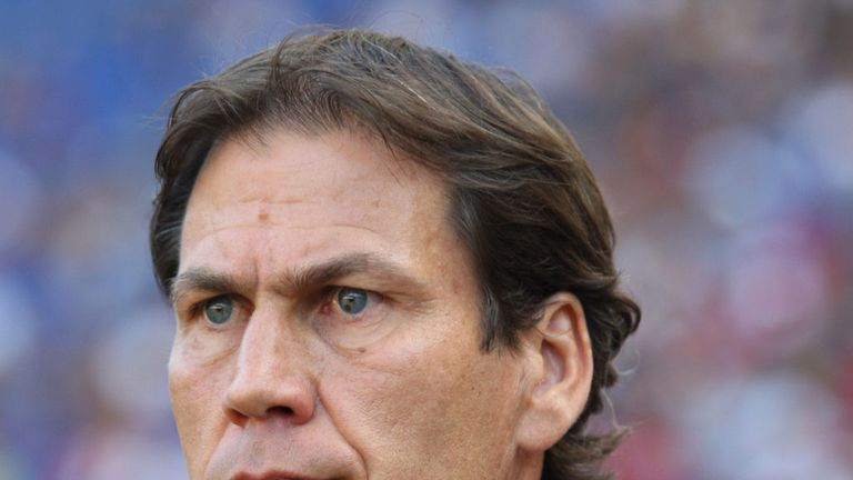 Rudi Garcia: Keen to highlight the positive aspects of draw