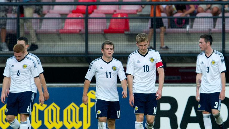 Scotland: Suffered more disappointment