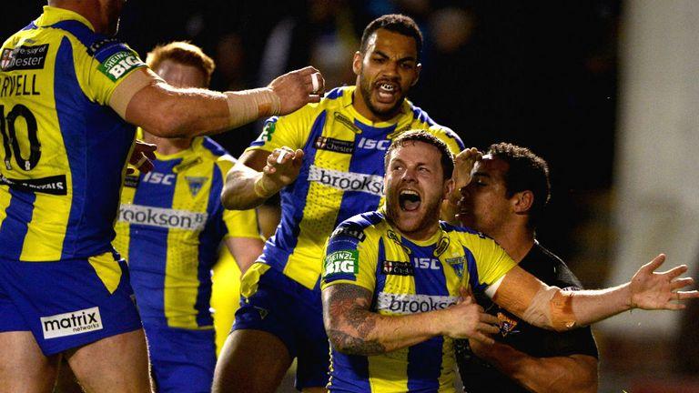 Warrington overcame Huddersfield to reach the final