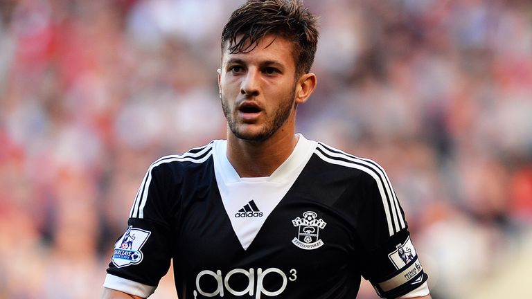 Adam Lallana: Happy to stay at St Mary's