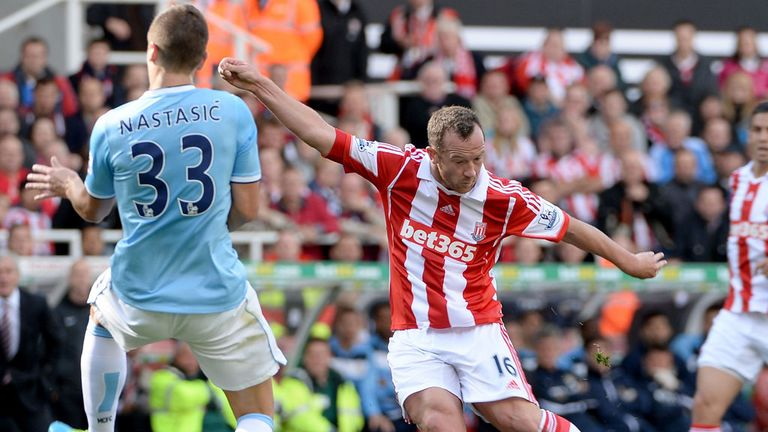 Charlie Adam: Stoke's driving force against Manchester City