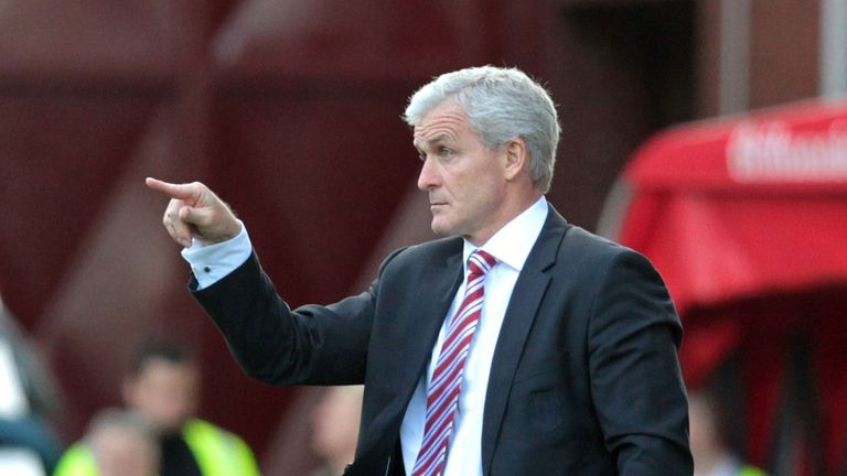Mark Hughes: Stoke boss pleasantly surprised by start to season