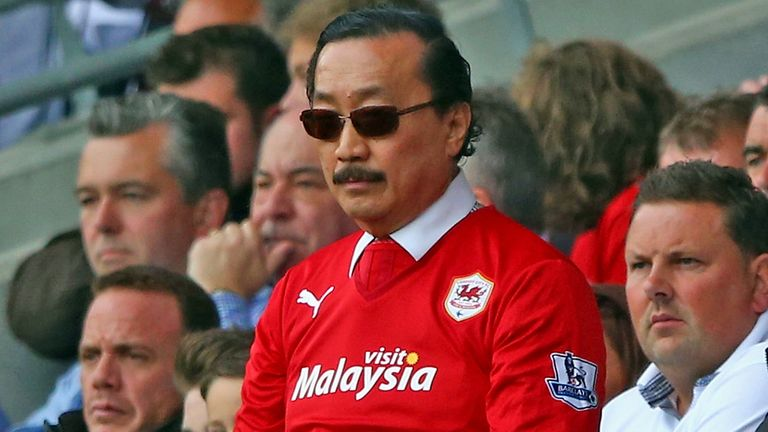 Vincent Tan: Blames Malky Mackay for Cardiff's relegation