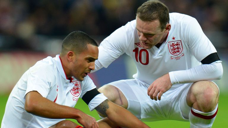 Theo Walcott: Looking for someone to fill Wayne Rooney's boots in World Cup qualifying double-header