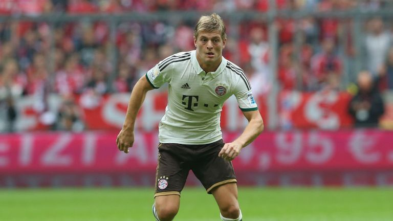 Toni Kroos: Ready to be the star man for Bayern Munich