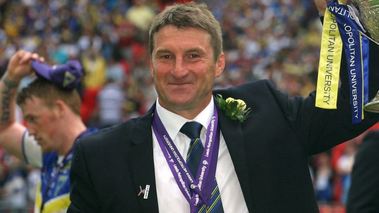 Tony Smith out at Warrington Wolves