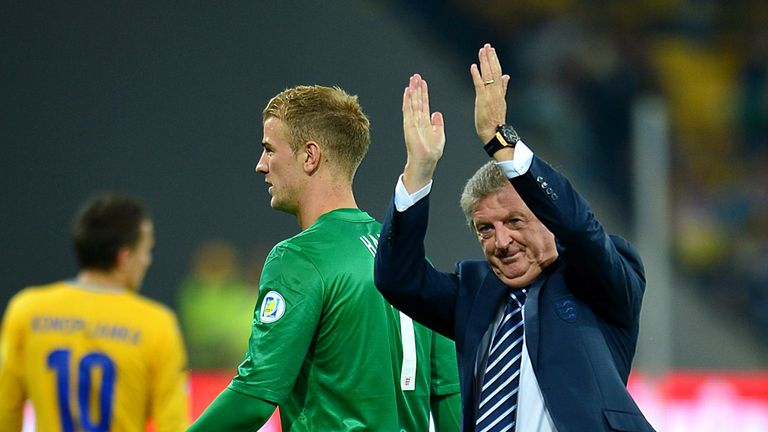 Roy Hodgson: Pleased with a point after England held Ukraine