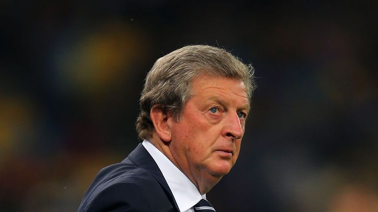 Roy Hodgson: Has defended his record as England manager