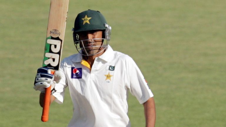 Younis Khan made a valuable century for Pakistan
