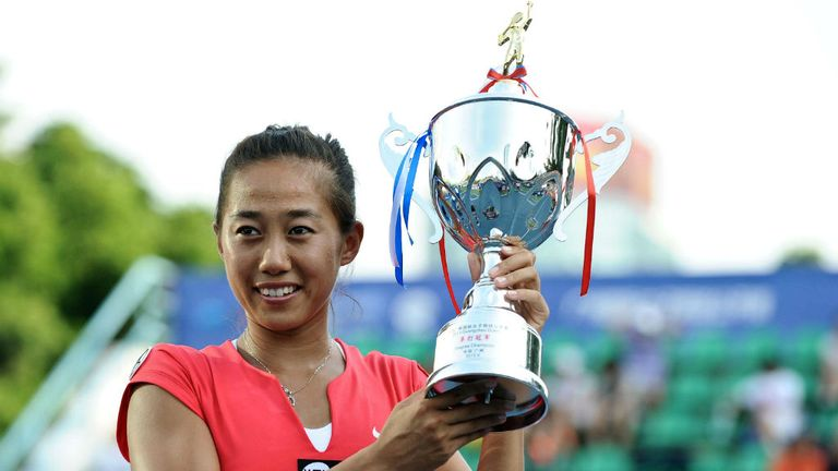 Zhang Shuai: Won her first WTA singles title on home soil